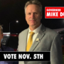 Brian Endle and Gov. Michael Dunleavy